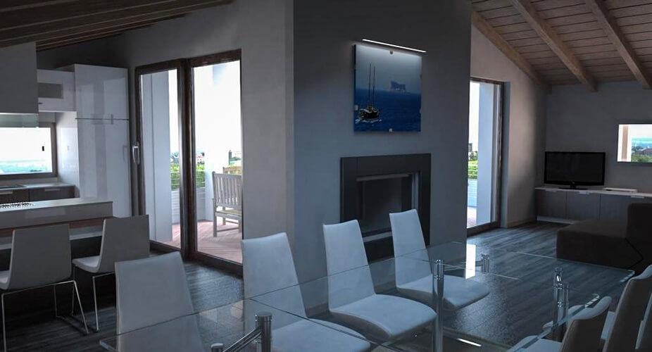 Conosciuto Progettazione d'interni e arredamenti personalizzati: studio Arch  VA92
