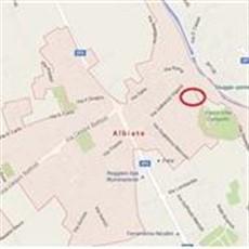 Planimetria cascina a Albiate